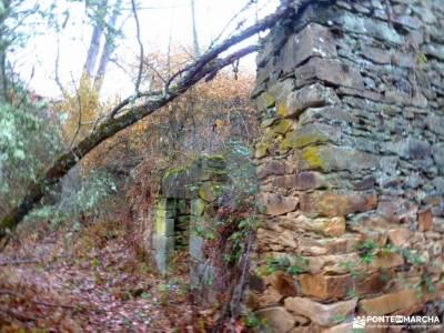 Robledales Riaza-Ermita Hontanares; viajes de montaña rutas toledo gratis fotos calahorra